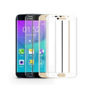Samsung Galaxy S7 Edge Panssarilasi 3d Full Cover Kulta