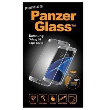Samsung Galaxy S7 Edge PanzerGlass Premium Näytönsuoja Hopea