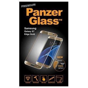 Samsung Galaxy S7 Edge PanzerGlass Premium Näytönsuoja Kulta