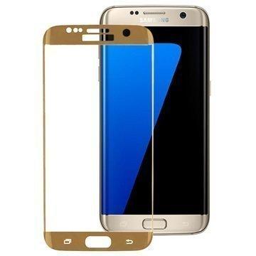 Samsung Galaxy S7 Edge Peter Jäckel Lasinen Näytönsuoja Kulta