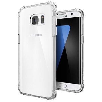 Samsung Galaxy S7 Edge Spigen Crystal Shell Kotelo Kristallinkirkas
