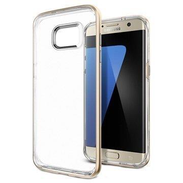 Samsung Galaxy S7 Edge Spigen Neo Hybrid Crystal Case Champagne Gold