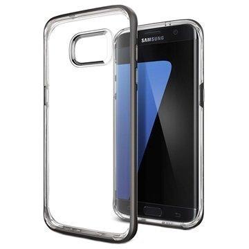 Samsung Galaxy S7 Edge Spigen Neo Hybrid Crystal Kotelo Asemetalli