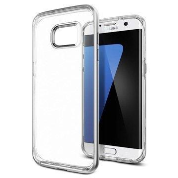 Samsung Galaxy S7 Edge Spigen Neo Hybrid Crystal Kotelo Satiinihopea