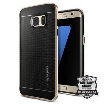 Samsung Galaxy S7 Edge Spigen Neo Hybridikotelo Samppanjakulta