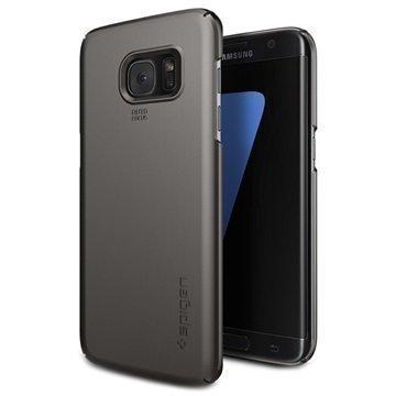 Samsung Galaxy S7 Edge Spigen Thin Fit Kotelo Asemetalli