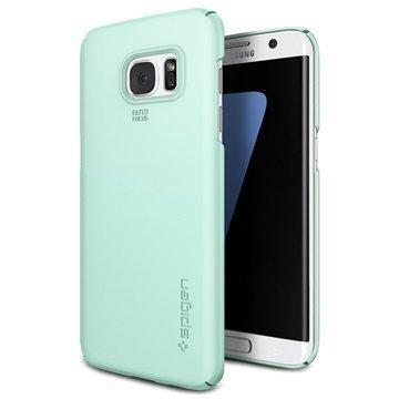 Samsung Galaxy S7 Edge Spigen Thin Fit Kotelo Mintunvihreä