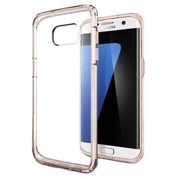 Samsung Galaxy S7 Edge Spigen Ultra Hybridikotelo Ruusukristalli