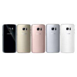 Samsung Galaxy S7 Edge Takakansi Musta