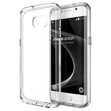 Samsung Galaxy S7 Edge VRS Design Crystal Mixx Series Kotelo Läpinäkyvä