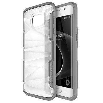 Samsung Galaxy S7 Edge VRS Design Shine Guard Series Hybridikotelo Harmaa
