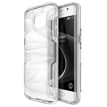 Samsung Galaxy S7 Edge VRS Design Shine Guard Series Hybridikotelo Kirkas
