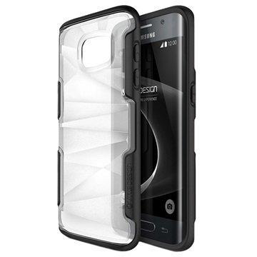 Samsung Galaxy S7 Edge VRS Design Shine Guard Series Hybridikotelo Musta