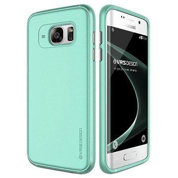 Samsung Galaxy S7 Edge VRS Design Single Fit Kotelo Mintunvihreä