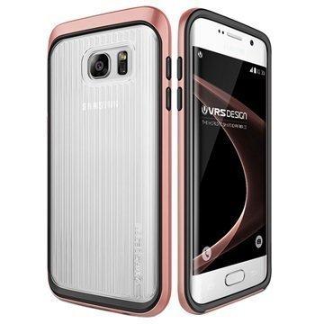 Samsung Galaxy S7 Edge VRS Design Triple Mixx -Sarjan Kotelo Ruusukulta