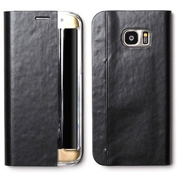 Samsung Galaxy S7 Edge Zenus Basic Diary Kotelo Musta