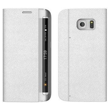 Samsung Galaxy S7 Edge Zenus Minimal Diary Kotelo Valkoinen
