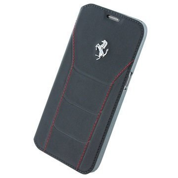 Samsung Galaxy S7 Ferrari 488 Collection Book Case Black / Red