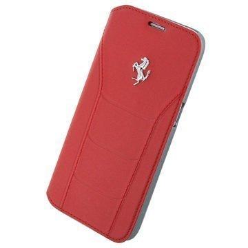 Samsung Galaxy S7 Ferrari 488 Collection Book Case Red
