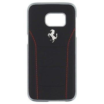 Samsung Galaxy S7 Ferrari 488 Kotelo Musta / Punainen