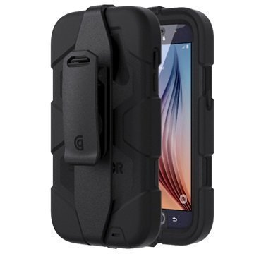 Samsung Galaxy S7 Griffin Survivor All-Terrain Kotelo Musta
