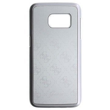 Samsung Galaxy S7 Guess 4G Alumiinikotelo Hopea
