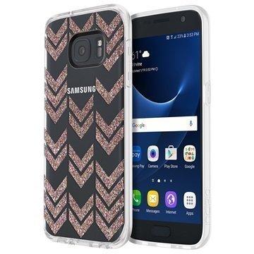 Samsung Galaxy S7 Incipio Design Isla Kuori Moni Glitteri