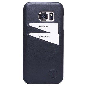Samsung Galaxy S7 JT Berlin Nahkakotelo Musta