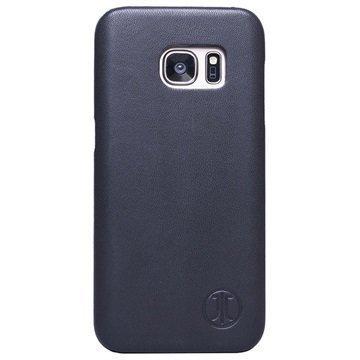 Samsung Galaxy S7 JT Berlin Pure Nahkakotelo Musta