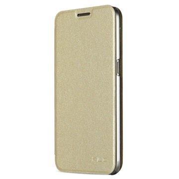 Samsung Galaxy S7 Kalaideng L Series Läppäkotelo Kulta