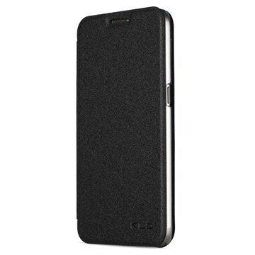 Samsung Galaxy S7 Kalaideng L Series Läppäkotelo Musta