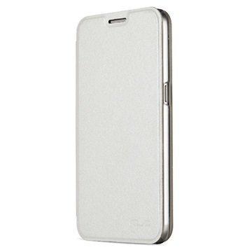 Samsung Galaxy S7 Kalaideng L Series Läppäkotelo Valkoinen
