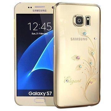 Samsung Galaxy S7 Kingxbar Swarovski Crystal Suojakotelo Elegant