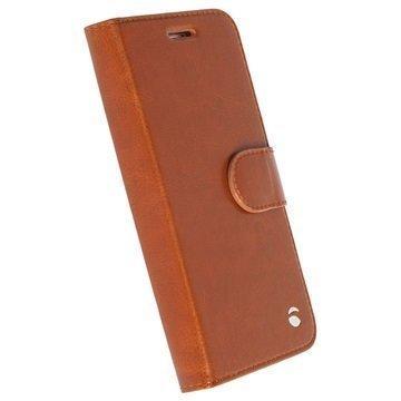 Samsung Galaxy S7 Krusell Ekerö 2-in-1 Wallet Case Cognac