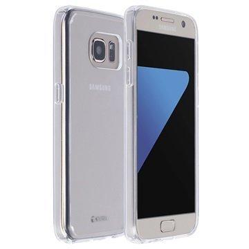 Samsung Galaxy S7 Krusell Kivik Kotelo Läpinäkyvä