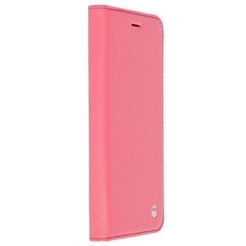 Samsung Galaxy S7 Krusell Malmo Lompakkokotelo Pinkki