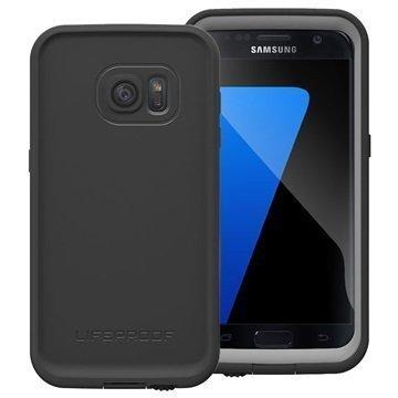 Samsung Galaxy S7 LifeProof Fre Vedenkestävä Kotelo Musta