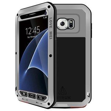 Samsung Galaxy S7 Love Mei Powerful Hybrid Suojakuori Harmaa