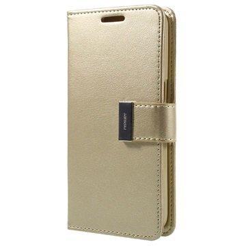 Samsung Galaxy S7 Mercury Goospery Rich Diary Lompakkokotelo Samppanja