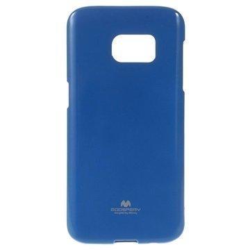 Samsung Galaxy S7 Mercury Goospery TPU Kotelo Tummansininen