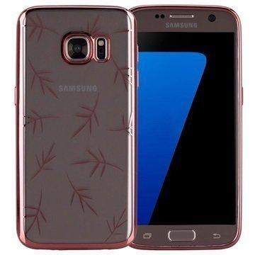 Samsung Galaxy S7 Momax Splendor TPU-Kotelo Ruusukulta