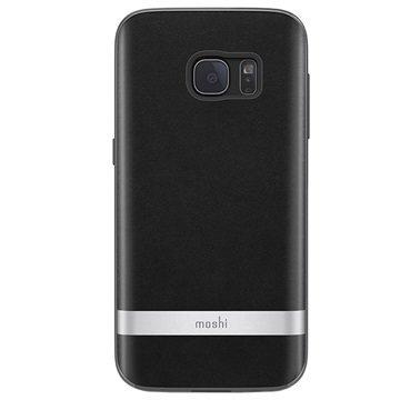 Samsung Galaxy S7 Moshi iGlaze Napa Kotelo Onyx Musta