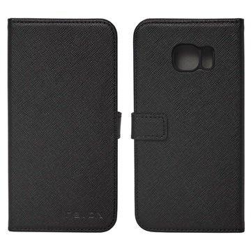 Samsung Galaxy S7 Nevox Ordo Foliokotelo Musta / Harmaa