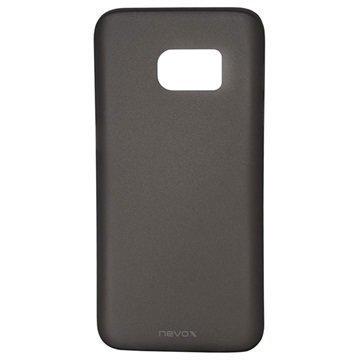 Samsung Galaxy S7 Nevox StyleShell Air PP Kotelo Musta Läpinäkyvä