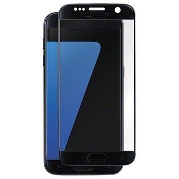 Samsung Galaxy S7 Panzer Full-Fit Näytönsuoja Karkaistu Lasi Musta