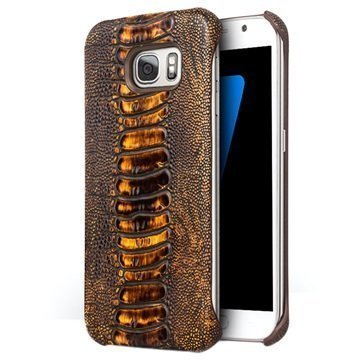 Samsung Galaxy S7 Qialino Suojakotelo Ruskea