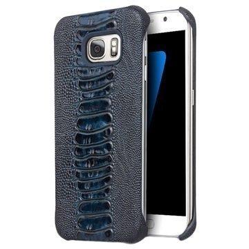 Samsung Galaxy S7 Qialino Suojakotelo Sininen