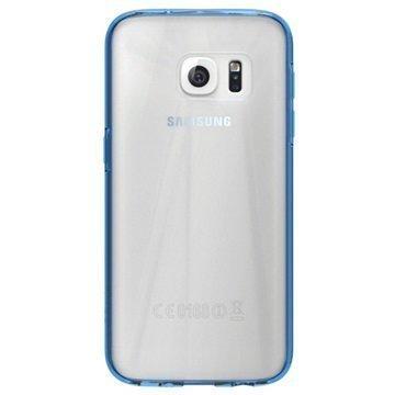 Samsung Galaxy S7 Skech Crystal Kotelo Kirkas / Sininen