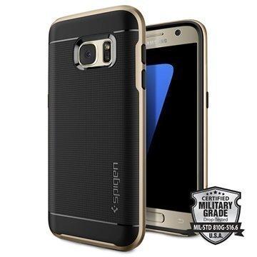 Samsung Galaxy S7 Spigen Neo Hybrid Case Champagne Gold