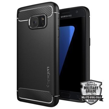 Samsung Galaxy S7 Spigen Rugged Armor Case Black
